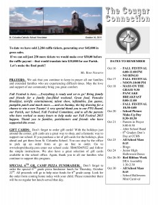 St  Columba Catholic School » St  Columba School Cougar Connection